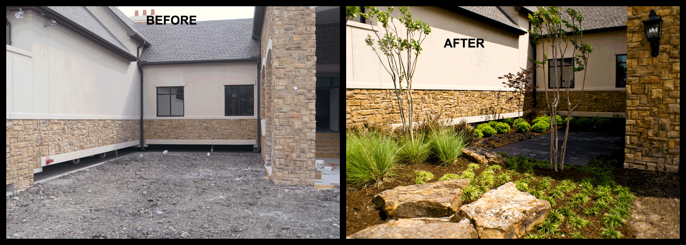 before after landscape architecture smelek design - Garden Design Before And After